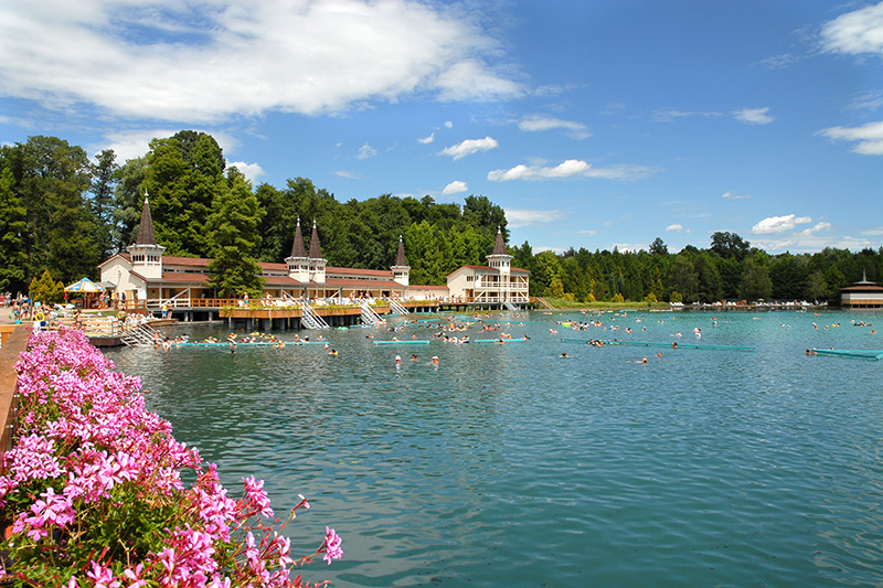 Heviz - the biggest thermal lake in Europe, Hungary Image 7