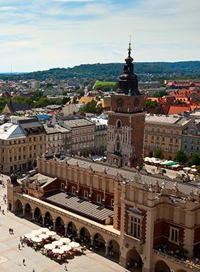 Anflug - Kraków [Krakau]
