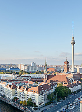 Ankunft in Berlin