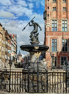 Przylot do Gdańska