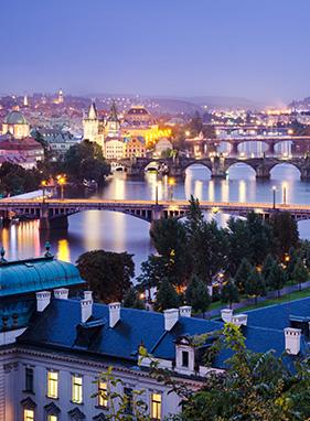 Prag - Abflug